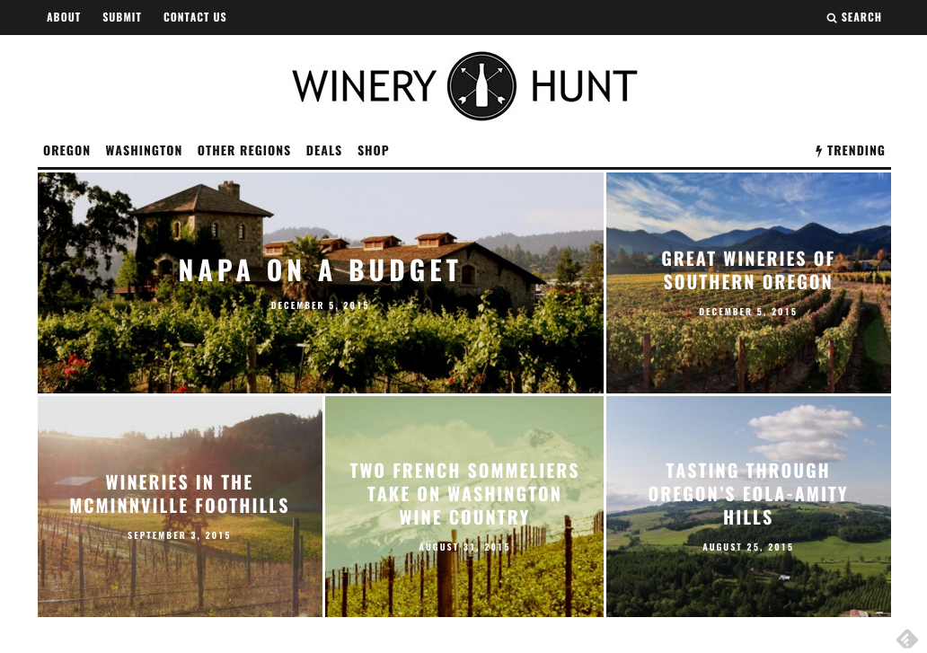WineryHunt
