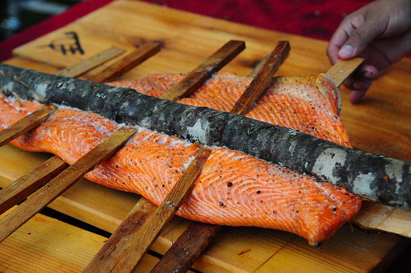 Salmon Bake IPNC